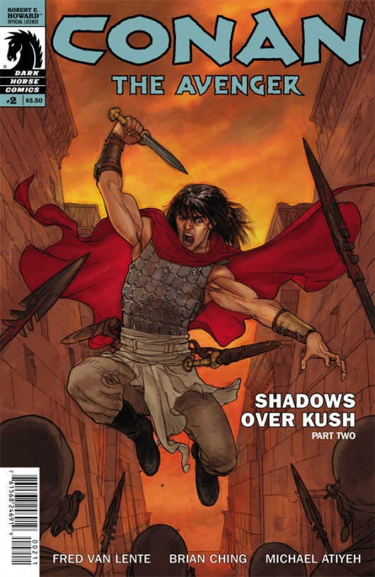 Conan The Avenger #2 cover