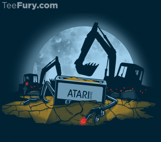 Atari E.T. Shirt 8-Bit Legend design