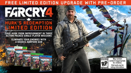 Far Cry 4 Pre-Order Hurk's Redemption