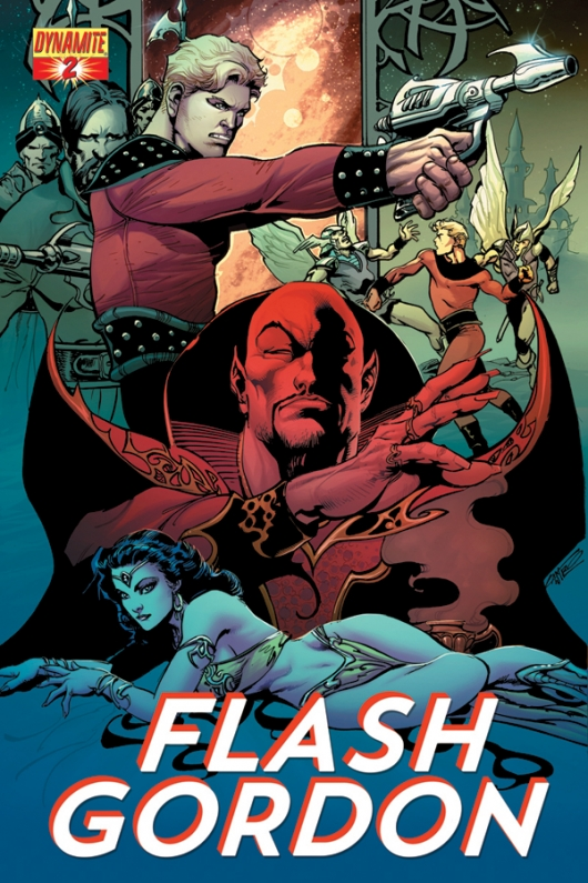 Flash Gordon 80th Anniversary Variant cover by Roberto Castro Dynamite Entertainment