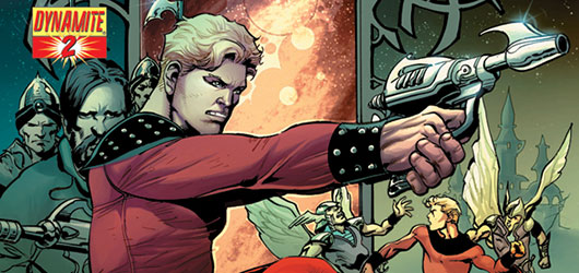 Flash Gordon #2 banner