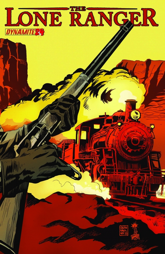The Lone Ranger #24 cover