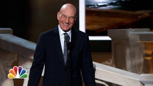 Patrick Stewart American Comedy Awards 2014