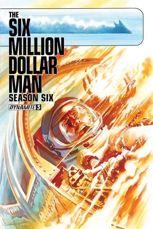 The Six Million Dollar Man, Season Six #3 cover