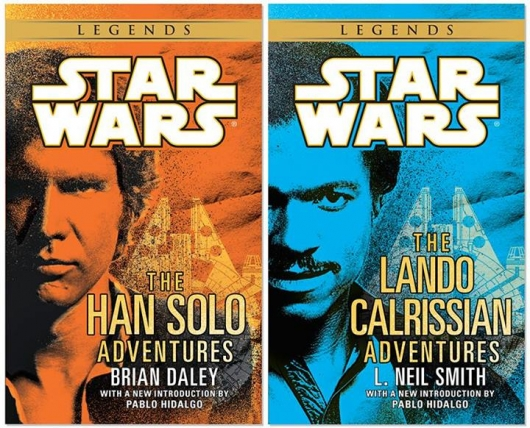 Star Wars Han Solo and Lando Calrissian Adventures books