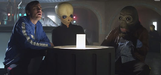 Star Wars Mos Eisley Cantina band auditions College Humor