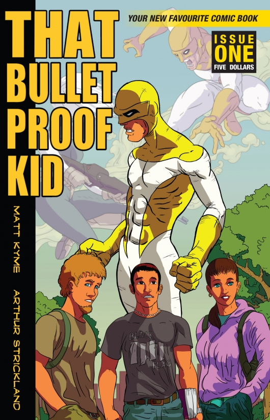 That Bullet Proof Kid #1 cover