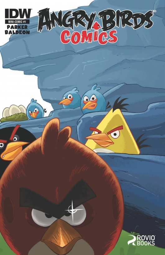 Angry Birds #1 cover