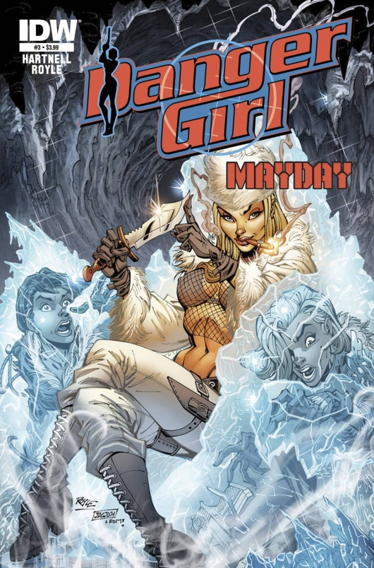 Danger Girl Mayday #3 cover IDW