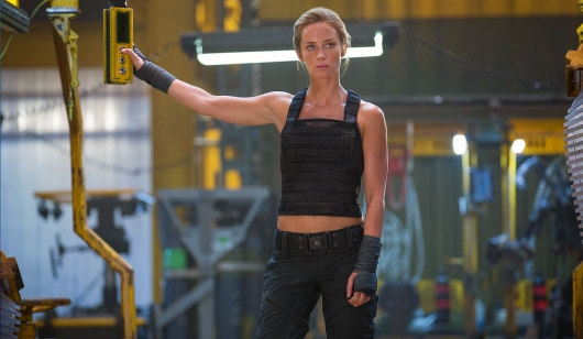 Edge of Tomorrow starring Emily Blunt