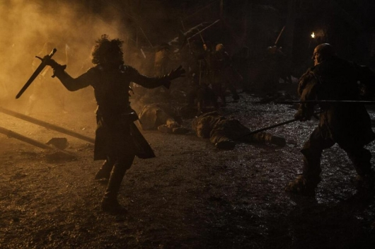 Game Of Thrones Season 4 Episode 9 Jon Snow battle of Castle Black
