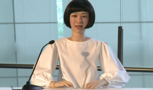 Japan's Android Newscaster