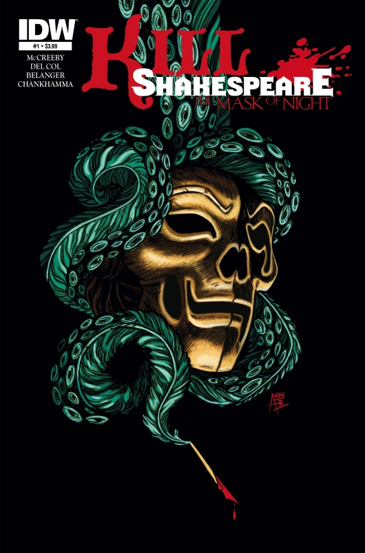 Kill Shakespeare: Mask of Night #1 cover