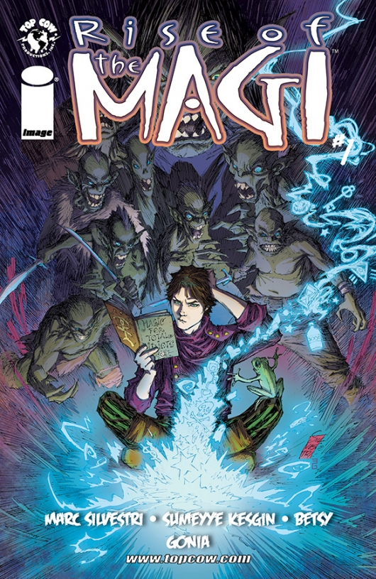 Rise of The Magi #1 cover