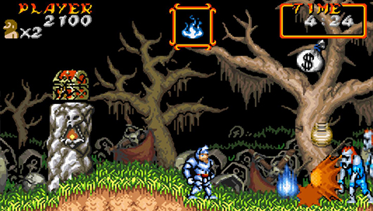 Super Ghouls N Ghosts for SNES from Capcom