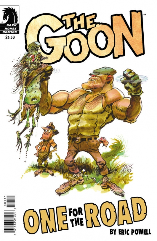 The Goon: One for the Road cover