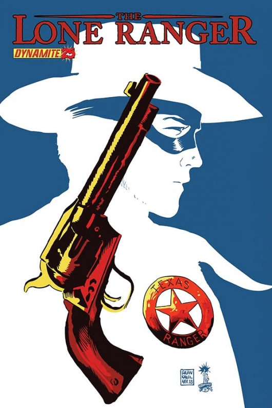 The Lone Ranger #25 cover