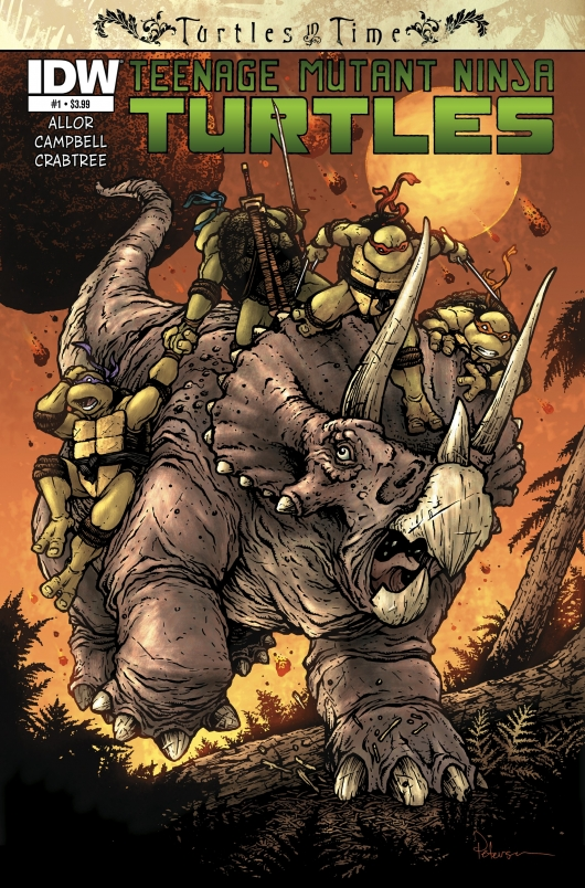 Teenage Mutant Ninja Turtles: Turtles in Time #1 cover