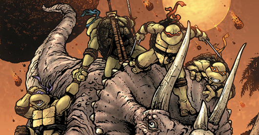 Teenage Mutant Ninja Turtles: Turtles in Time #1 review header image
