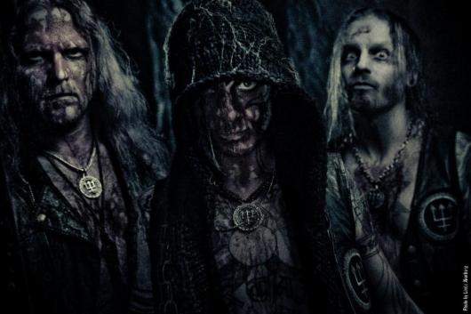 Watain black metal band photo