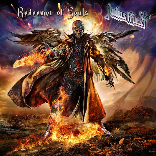 Judas Priest: Redeemer of Souls album cover