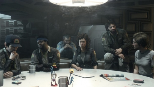 Alien: Isolation Ripley and Crew