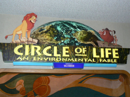 Circle of Life film at Epcot poster (Photo by Brett Nachman)