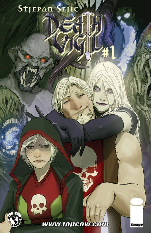 Death Vigil #1 cover