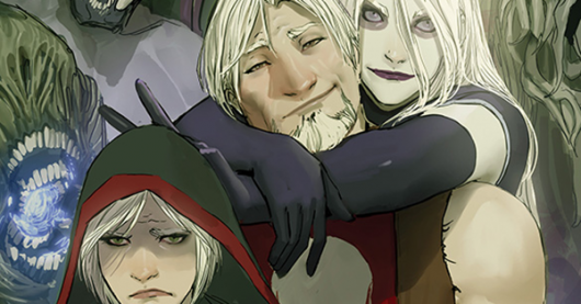 Death Vigil #1 review header