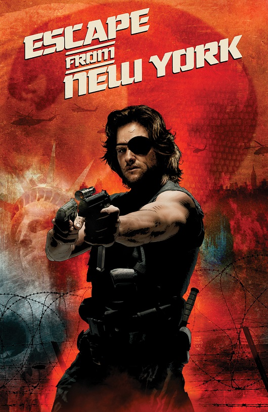 Escape from New York cover by Tim Bradstreet
