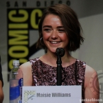 Game Of Thrones panel Maisie Williams SDCC 2014