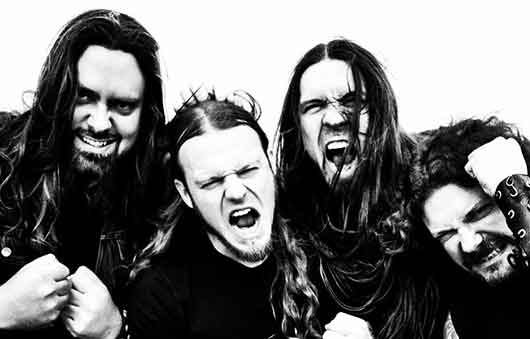 Goatwhore Band Photo Black and White