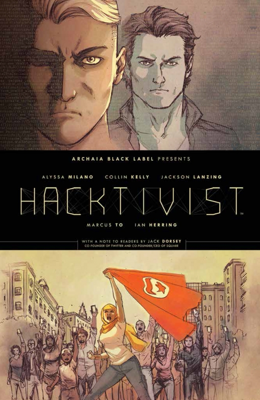 Hacktivist cover by Marcus To