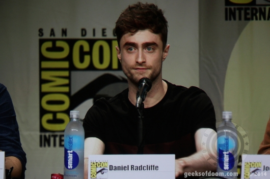 Daniel Radcliffe Horns Panel SDCC 2014