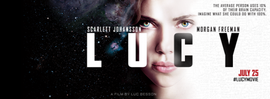 Lucy movie banner