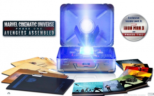 Marvel Cinematic Universe: Phase One - Avengers Assembled Blu-ray Box Set