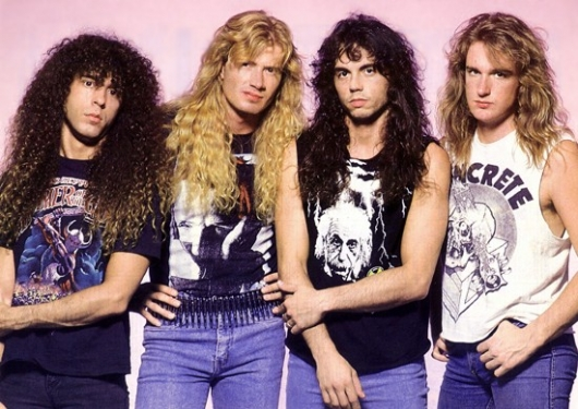 Megadeth Rust In Peace Band Photo