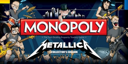Metallica Monopoly Box Cover Image