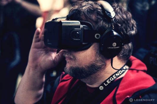 Guillermo del Toro at the Pacific Rim: Jaeger Pilot Oculus VR experience