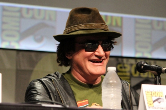 Quentin Tarantino SDCC 2012 Django Unchained panel - photo by Geeks Of Doom