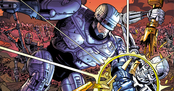RoboCop vs. the Terminator review header