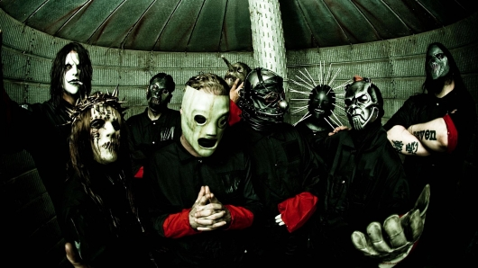 Slipknot Band Photo Inside of Silo
