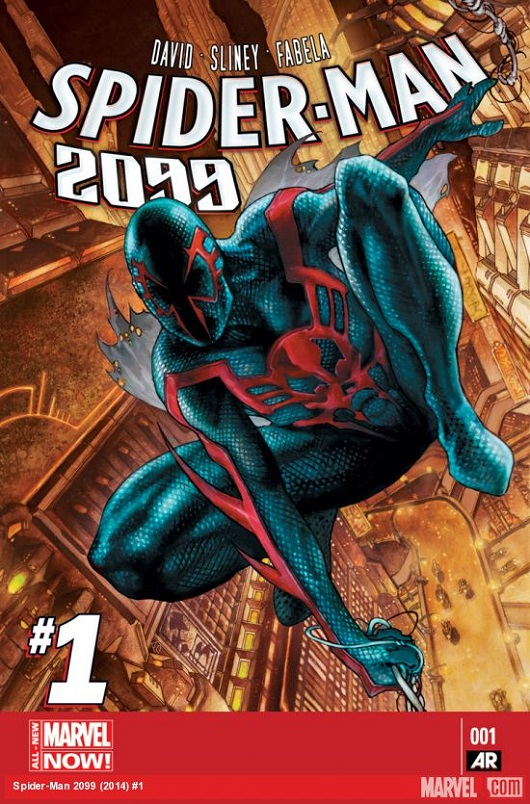 Spider-Man 2099 #1 Cover by Simone Bianchi