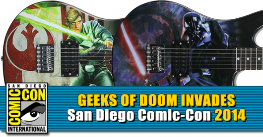 Star Wars Peavy Guitars