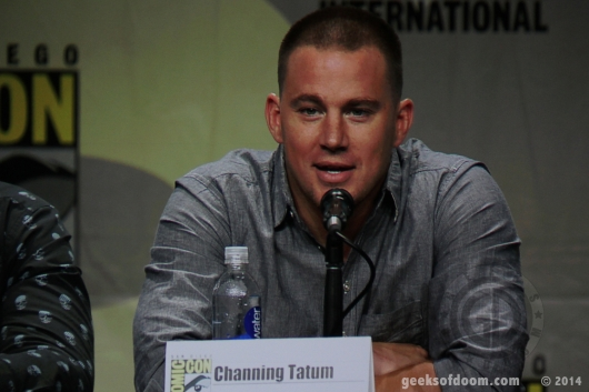 Book of Life Channing Tatum SDCC 2014 - cast in Splash