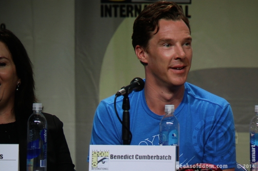 Benedict Cumberbatch SDCC 2014 The Hobbit: Battle of the Five Armies Panel