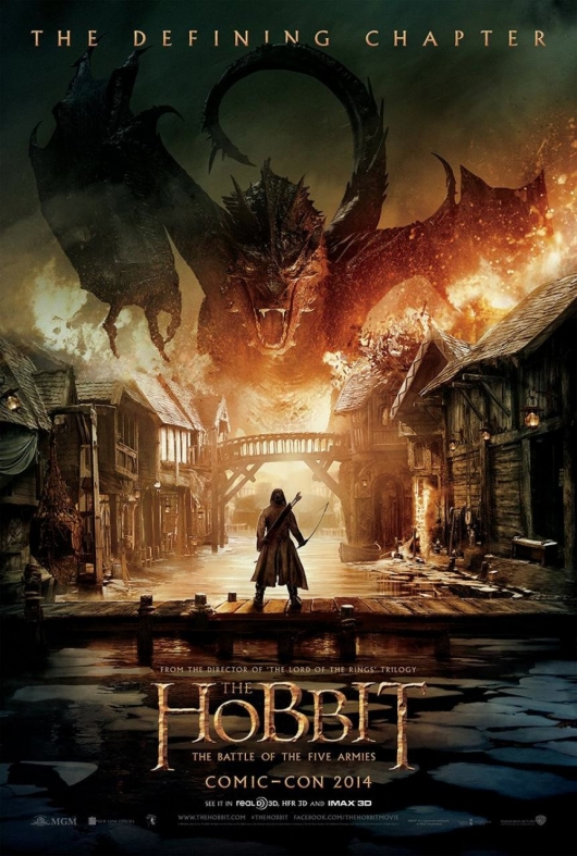 The Hobbit: The Battle of the Five Armies Comic-Con Poster