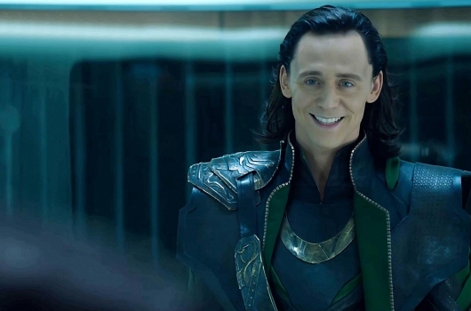 Tom Hiddleston As Loki In The Avengers