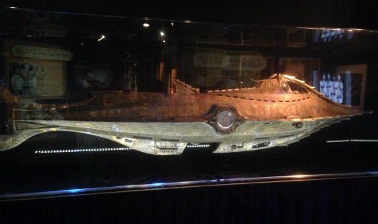 Nautilus model featured at D23's Treasures of the Walt Disney Archives (photo by Brett Nachman)