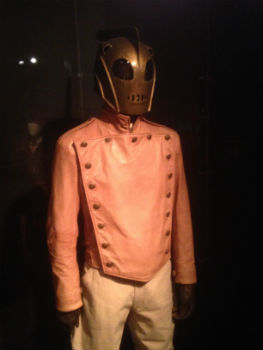 Rocketeer costume featured at D23's Treasures of the Walt Disney Archives (photo by Brett Nachman